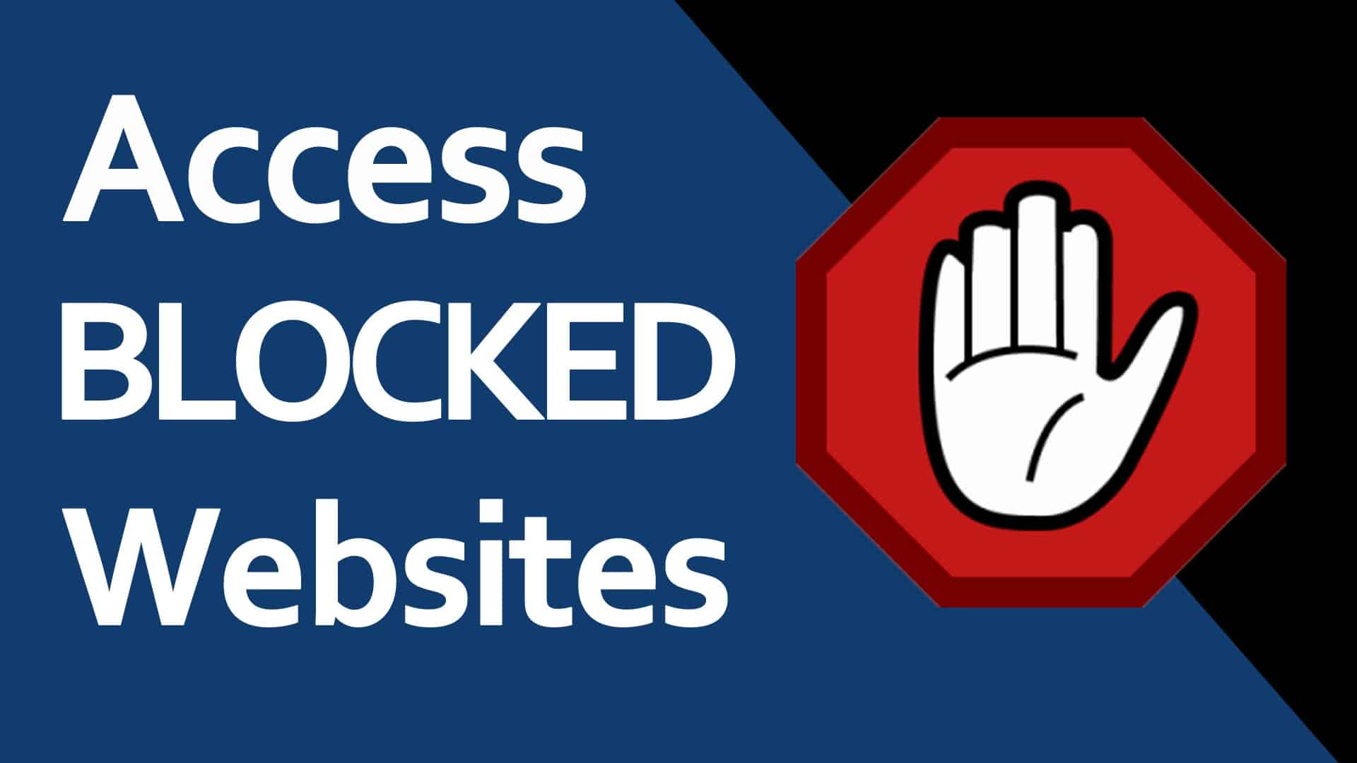 5 ways to access blocked sites ccuart Image collections